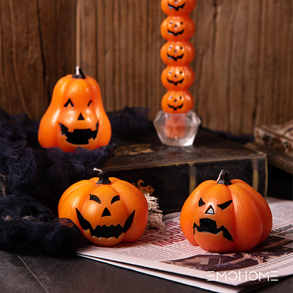 Vela de halloween